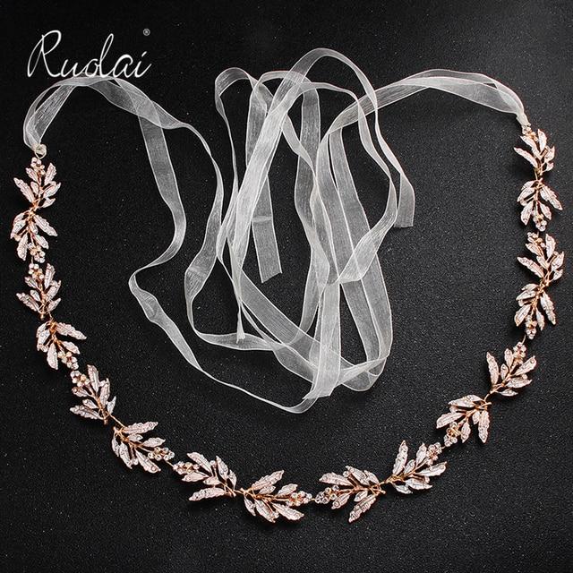 כסף ריינסטון חתונת חגורת אבנט כלה זהב קריסטל סרט חגורת Sashes חגורת יהלומי חתונת קישוט WS J043