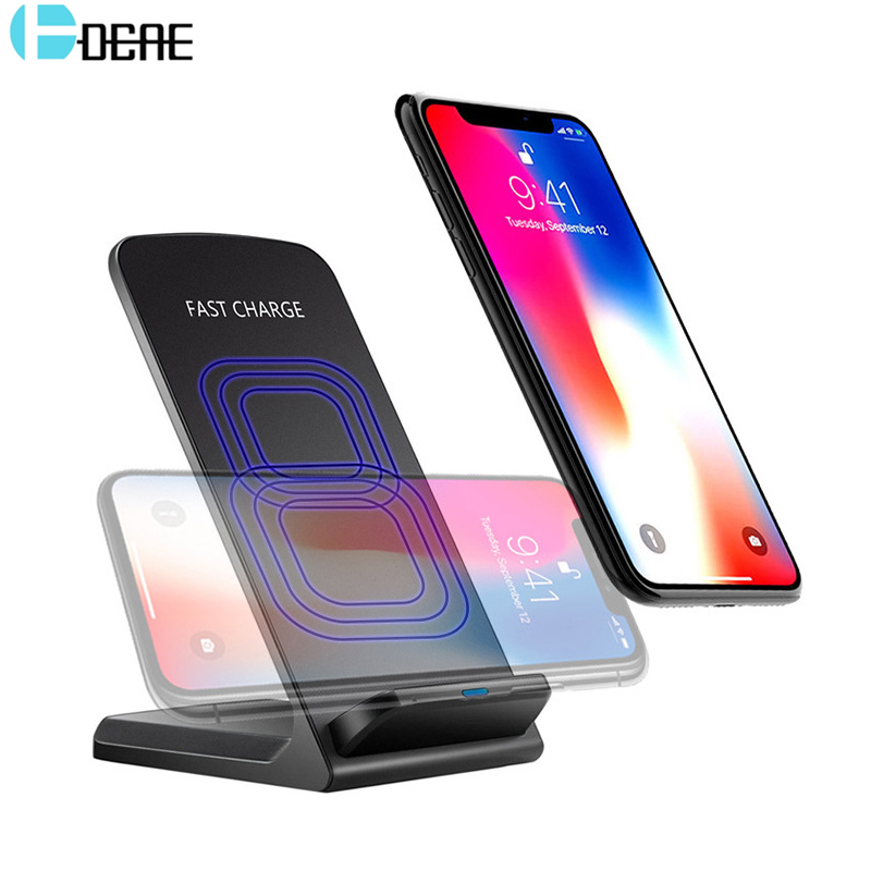 DCAE Qi Wireless Charger Quick Charge 10W For iPhone X 8 Samsung Note 8 S8 Plus S7 Edge  ...