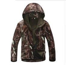 Mens Military Tactical Jacket Waterproof Windbreaker Camouflage Hunt Camp Travel Thermal Fleece Jacket and Coat
