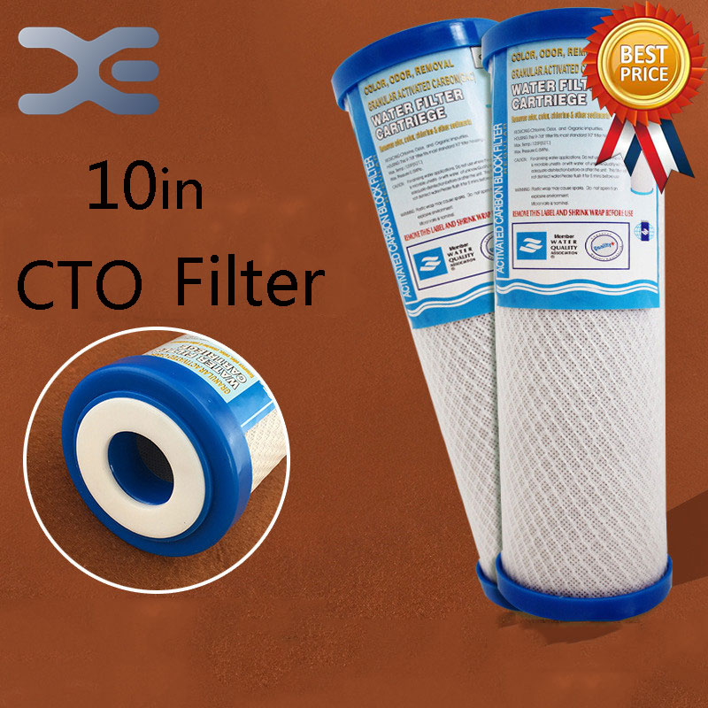 10in CTO Filter Sintered Activated Carbon Filter Pre-Filter Water Purifier Filter Compressed Carbon Water Purifier Accessories sephora vintage filter палетка теней vintage filter палетка теней