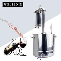 50L Transformer Wine Maker Brew Kit Alcohol Distiller Household Stainless
