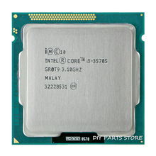 Intel Core I5 3570S I5-3570 S CPU 3.4 GHz/6 MB Socket LGA 1155 Prosesor HD 2500 Memori Yang Didukung: DDR3-1066, DDR3-1333