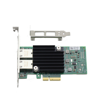ARUENTEX Big Discount X550-T2 Dual Port 10 gigabit network Card PCIe3.1 X8 Chipset X550 RJ45*2 Copper Interfaces alibaba express