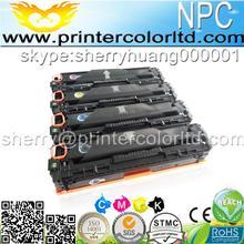 320-323) compatible cartucho de impresora láser laserjet de Tóner para hp 128A ce320a ce321a ce322a ce323a pro cm1415fn cm1415 cm1415fnw
