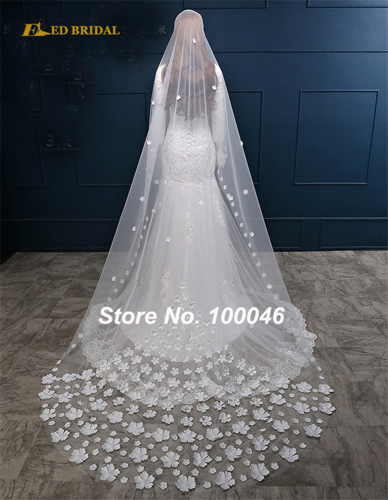 Wedding Veils Silver Stone Beaded Lace Trim Short Bridal Veil Single Layer Accessory Price Ev03 In From Weddings Events On