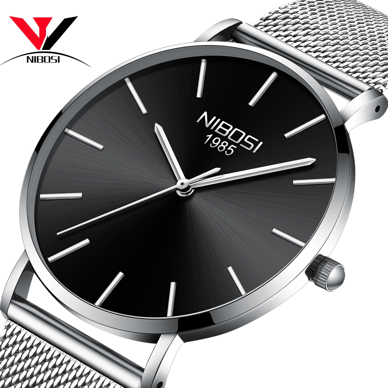 Relogio Masculino 2018 New Ultra Thin Watches For Men Watch Top Brand Luxury Simple Watch Black Leather Male Clock Waterproof ultra thin watch male student korean version of the simple fashion trend fashion watch waterproof leather watch men s watch quar