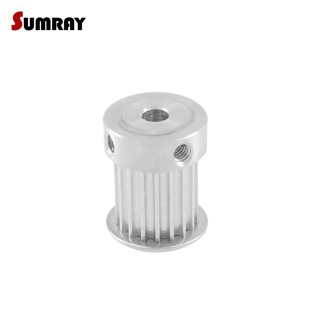 SUMRAY 3M 20T Timing Pulley 4/5/6/6.35/7/8/10/12mm Inner Bore Stepper Motor Pulley 16mm Belt Width CNC Belt Pulley 2pcs купить недорого в Москве