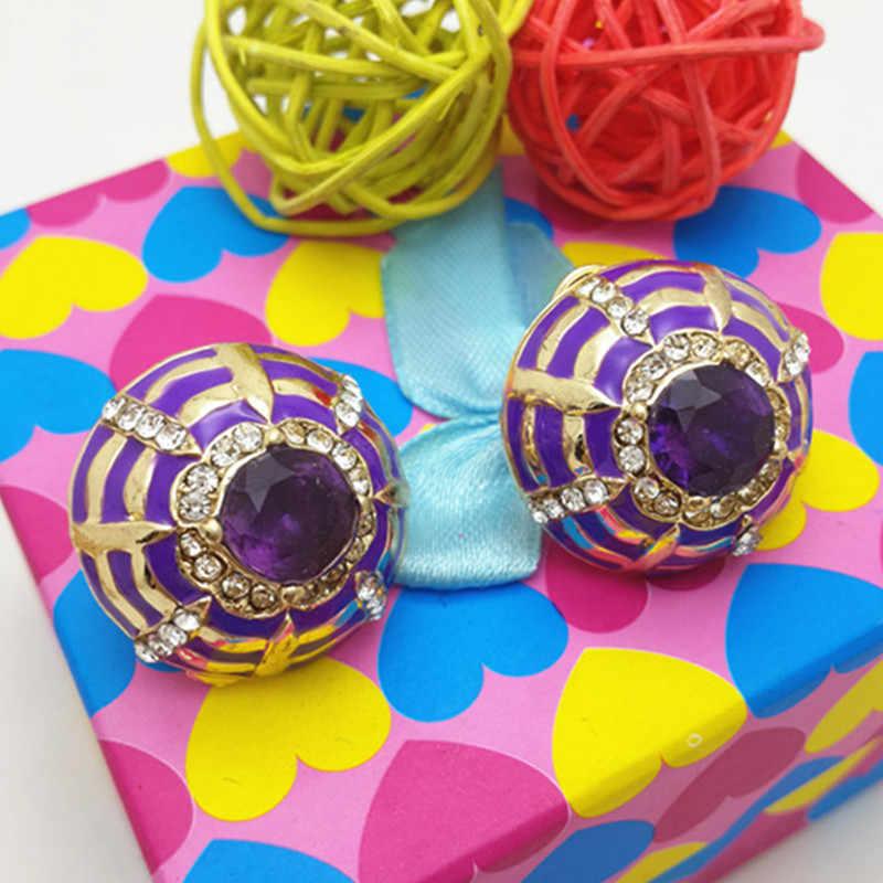 סט תכשיטי זהב דובאי ZuoDi מותג קריסטל צבעוני תכשיטי חרוזים אופנה אפריקאים הגדרת אביזרי כלה נשים חתונה סיטונאי
