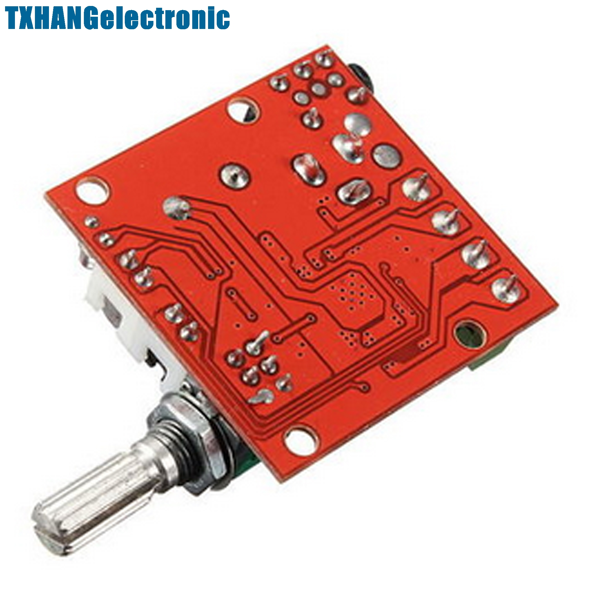 12v 2x10w Hi Fi Pam8610 Audio Stereo Amplifier Board Module Dual D 20w Power Circuit Based Tda2005 Class Channel In Integrated Circuits From Electronic Components Supplies On
