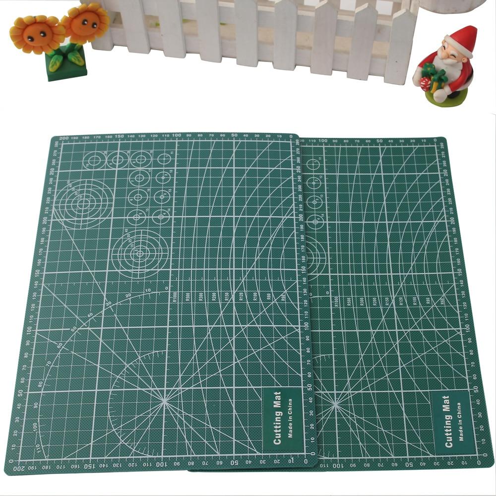 Liyuan PVC Cutting Mat A4 Self-healing Cut Board Pad Patchwork Tools Handmade DIY Polymer Clay Accessory Cutting Plate 30*22cm