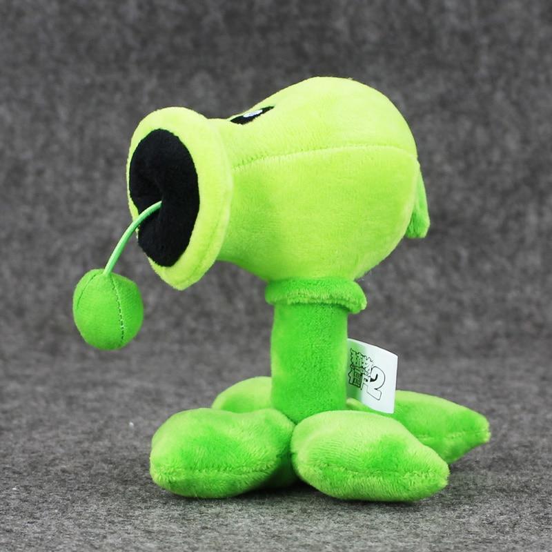 Plants VS Zombies Peashooter Pea Shooter Plush Toy PVZ