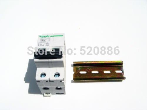 2P 250V 16A C65H DC breaker DC air switch Amps circuit breakerDC system appliance, Short circuit protection Overload protection 2 pin thermal overload protection circuit breaker 10 piece pack