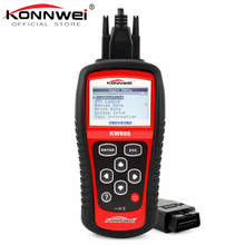Original KONNWEI KW808 OBD Car Scanner OBD2 Auto Automotive Diagnostic Scanner Tool Supports CAN J1850 Engine Fualt Code Reader все цены