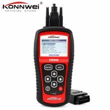 Original KONNWEI KW808 OBD Car Scanner OBD2 Auto Automotive Diagnostic Scanner Tool Supports CAN J1850 Engine Fualt Code Reader