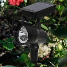Waterproof LED Solar Wall Lamps 2 pcs Set for Outdoor Decor