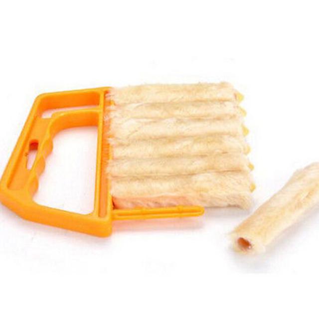 Creative Microfiber Blind Blade Window Conditioner Duster Clean Brush