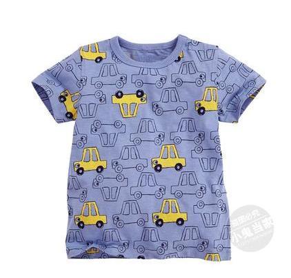 Новинка 2017 Детская футболка футболки для мальчиков Одежда для малышей Летняя футболка для маленьких мальчиков хлопковые дизайнерские футб...