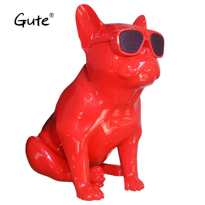 Gute hot Aero Bulldog wireless Bluetooth Speaker Dog Full Aerobull Nano Speaker 10W USB with Mic caixa de som one button player цена