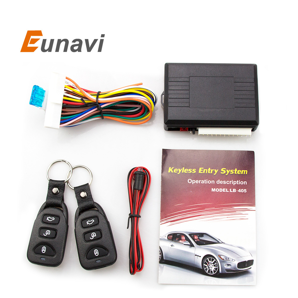 Universal Car Alarm Systems Auto Remote Central Kit Door