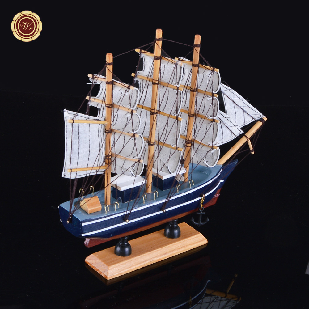 Wholesale Christmas Gifts Sailboat Model Craft Carving Nautical ...