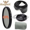 KnightX camera filter FLD UV CPL MC UV Star Lens Kit dslr accessories for Nikon d3200 Sony Canon  650d 70d d7200 5d mark ii Di