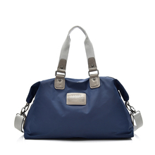 e07269b6e3 Fashion Waterproof Nylon Women Shoulder Travel Bag Leisure Large Travel  Tote Bag For Women Casual Travel Luggage Bag Ladies 1504