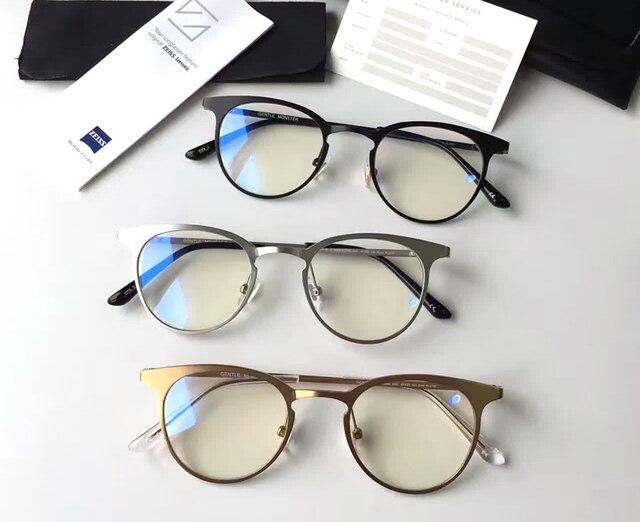 37f73802d2c5e Gentil Harry Potter Óculos de Lentes Redondas De Metal óculos de Armação de  prescrição Óculos de