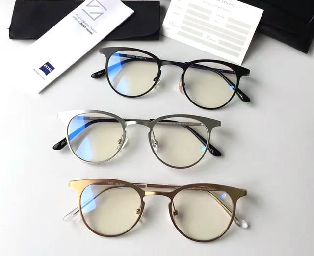 382fcbc7dc699 Gentle Harry Potter Glasses Computer Lenses Round Metal Frame prescription  Eyeglasses pluto Women Men Oculos De