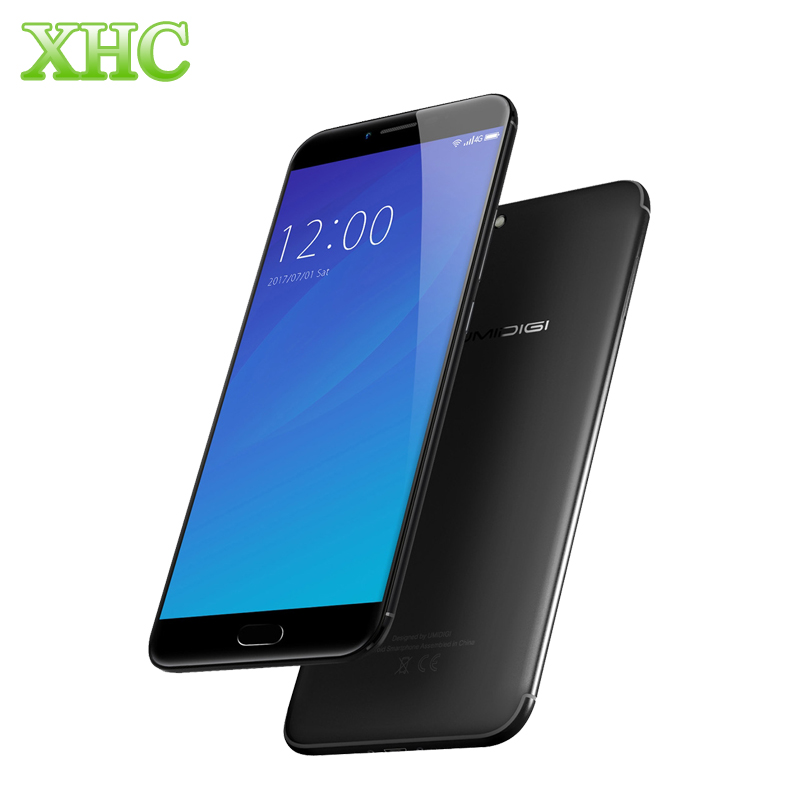 Original UMIDIGI C NOTE 2 4GB RAM Smartphone 64GB ROM Fingerprint ID 5 5 Android 7