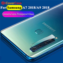 2Pcs Back Camera Tempered Glass Film For Samsung A7 A9 2018 Case Mobile Accessories Protector Lens For Galaxy A9 Star Pro A9S