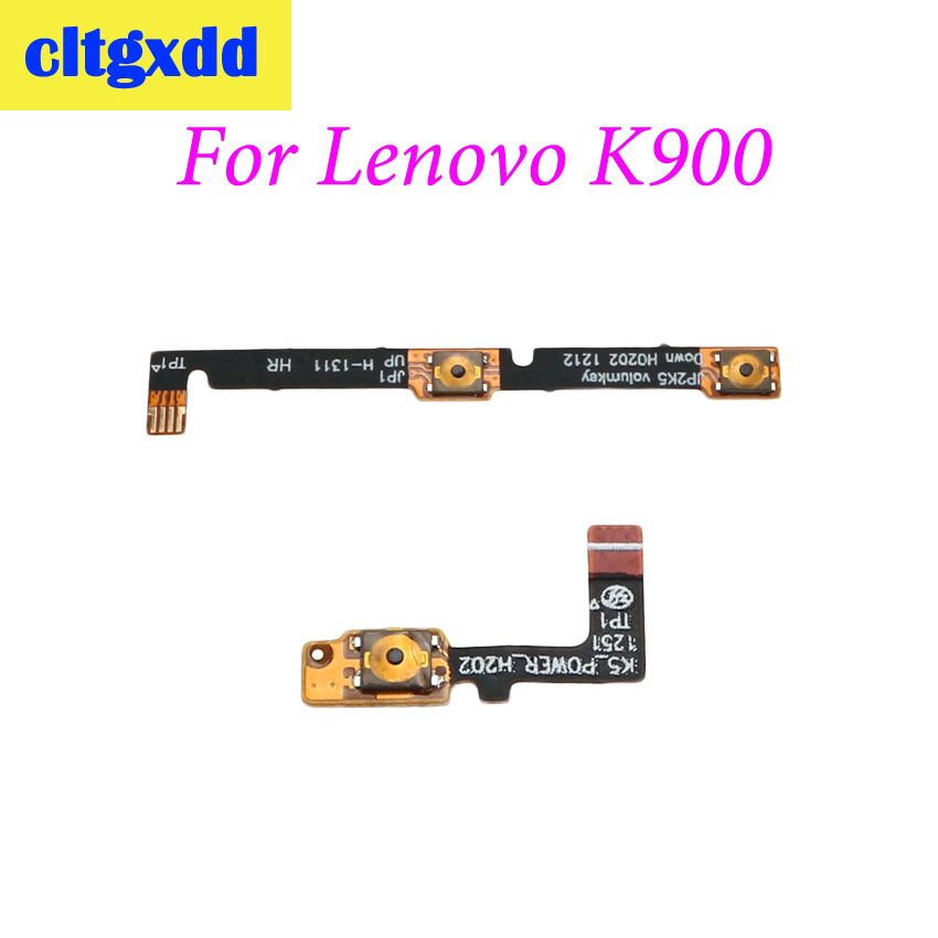Cltgxdd Power Volume Button Cable For Lenovo K900 New Power On/off Volume Up/down Switch Button Flex Cable Repair Parts