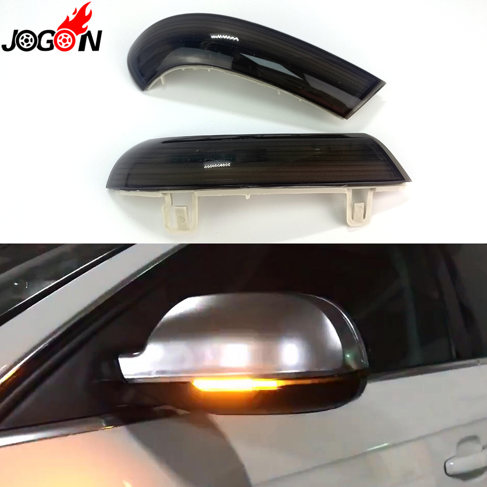 цена на For VW GOLF 5 GTI V MK5 Jetta MK5 Passat B5.5 B6 Sharan Superb B5 EOS Dynamic LED Turn Signal Light Side Wing Mirror Indicator