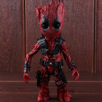 Marvel Avengers Infinity War Tree Man Cosplay Dead Pool Marvel Comics Super Heros Action Figure Collectible Model Toy