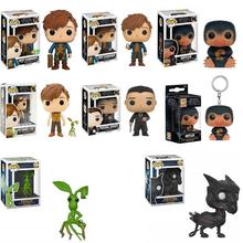 FUNKO Pop Anime Magic Movie Fantastic Animals and Where to Find Them Dolls Collection Model Toy Movie Action Figure Kids Toys fantastic beasts and where to find them action figure animals xx flexible bowtruckle toy doll movies magic f harri potter