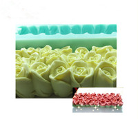 Wholesale Beautiful Rose Flowers And Swan Design Silicone Toast Soap Mold Molds Silica Gel Soap Molds