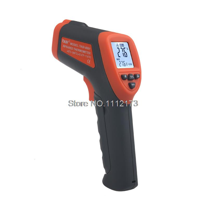 TASI-8601 Non contact infrared thermometer digital LCD IR Thermometer -42-380C degree Laser Thermometer Gun  цены