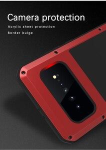 Image 5 - עבור סמסונג גלקסי S10 5G מקרה אהבת מיי הלם עפר הוכחת מים עמיד מתכת שריון כיסוי טלפון מקרה עבור סמסונג גלקסי S10 5G