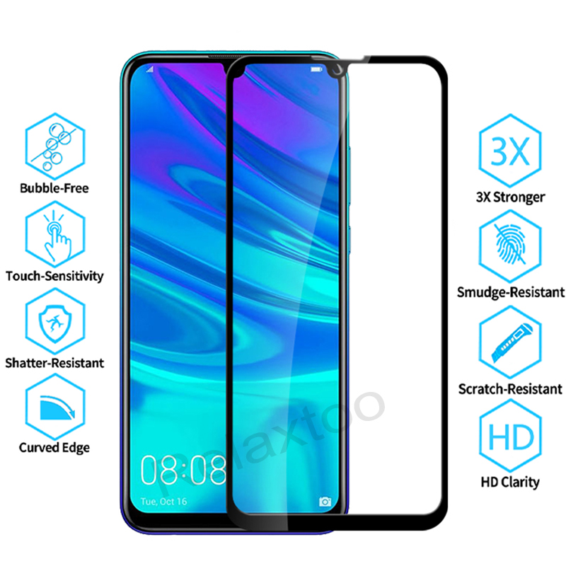 Image 2 - Tempered Glass For Huawei P smart 2019 Glass Screen Protector on For Huawei P smart 2019 Psmart Z P smart Z Protective glas Film-in Phone Screen Protectors from Cellphones & Telecommunications