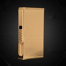 Neue Muster USB Leichter Elektrische Pulse Arc Zigarette Leichter Winddicht Donner Metall Zigarette Plasma Flammenlose Zigarre