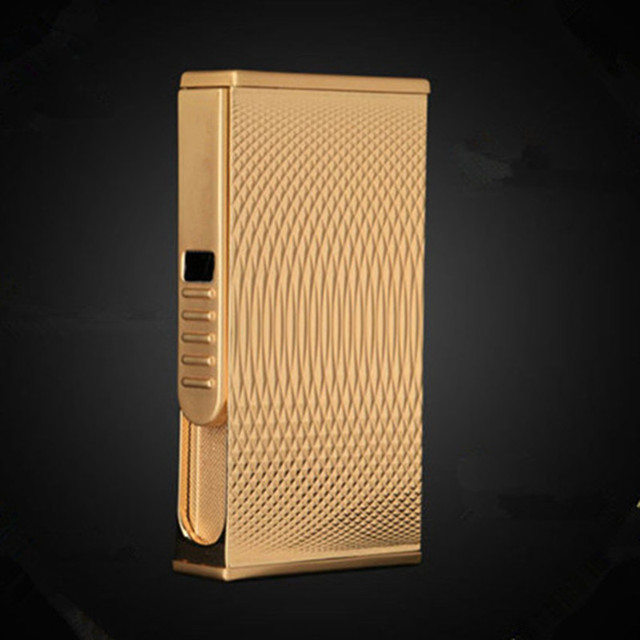 New Patterns USB Lighter Electric Pulse Arc Cigarette Lighter Windproof Thunder Metal Cigarette Plasma Flameless Cigar