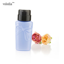 The new make – up water packaging pressing bottle nail water press nail tool supplies nail water small pressure bottle