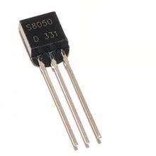 MCIGICM 100 шт. S8050 NPN Универсальный транзистор TO-92 0.5A 40 в NPN
