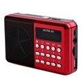 Venta caliente LFJTS-31 Receptor de Radio FM Reproductor de MP3 de Audio Mini Altavoz Portátil Con Tarjeta TF Leer Función de Pantalla LED