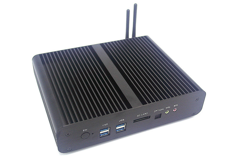 Image 3 - Intel 5th Gen. i7 5500U/5600U CPU Fanless Mini PC i7 Broadwell HTPC Blu ray Micro PC Small Size htpc Graphics HD5500 Computer-in Mini PC from Computer & Office