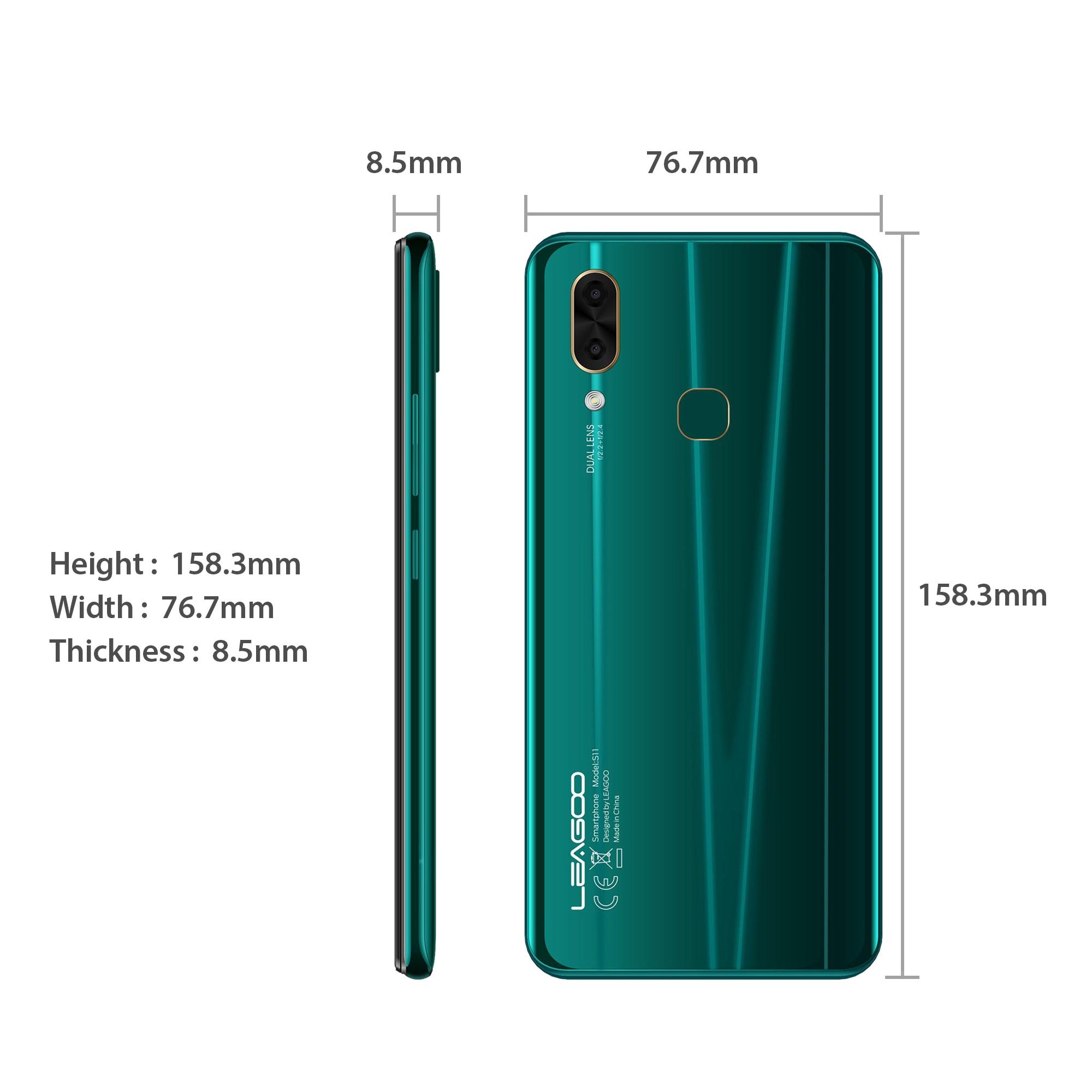 LEAGOO S11 Refurbished LG Phone With Water Drop Display And 13MP Dual Camera