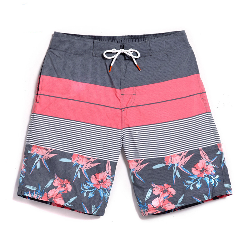 New Men Beach Shorts Board Trunks Male Swimwear  Bermuda Casual Active Sweatpants Bottoms Quick Drying Shorts