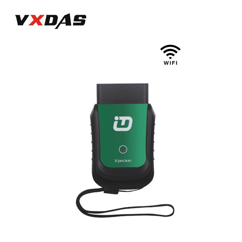 Prix pour Voiture-style De Voiture-détecteur Vpecker Easydiag Wifi Vpecker Automobile Scanner Voiture Outil De Diagnostic Vpecker Plein Système V9.0 VXDAS