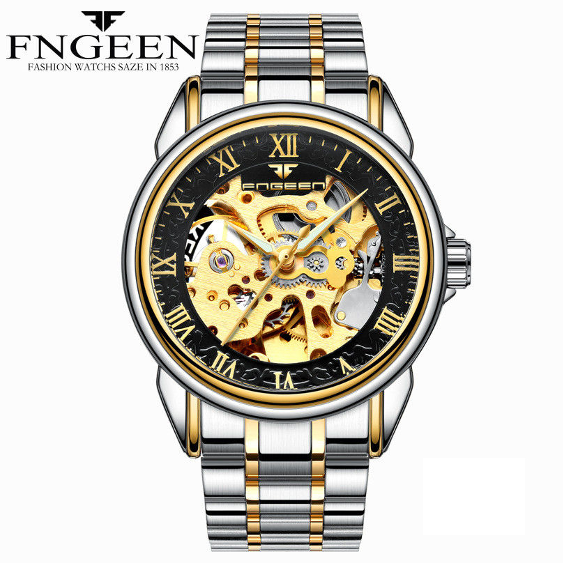 HTB1eCfgmN6I8KJjSszfq6yZVXXa3 - Men Watches Automatic Mechanical Watch Male Tourbillon Clock Gold Fashion Skeleton Watch Top Brand Wristwatch Relogio Masculino