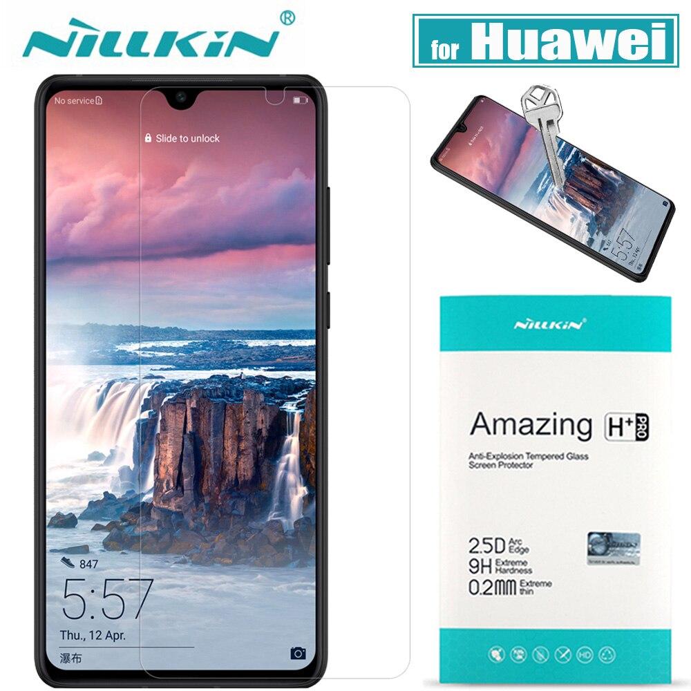 Nillkin Huawei P30/P20 Lite Protetor de Tela de Vidro 9H 20 X Vidro Temperado Vidro De Proteção sobre Huawei Companheiro para Honra 10 20 Pro