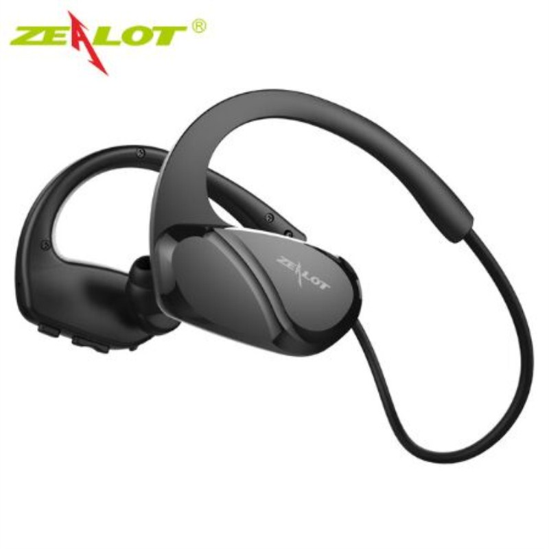 ZEALOT H6 Sports Wireless Earphone handsfree Bass Stereo Bluetooth Headphones with Microphone For Running Exercise and Fitness remax bluetooth v4 1 wireless stereo foldable handsfree music earphone for iphone 7 8 samsung galaxy rb 200hb